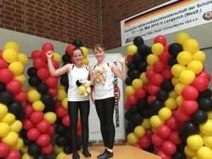 Selina Harnisch und Hannah Berger (Foto: A. Heimbach)