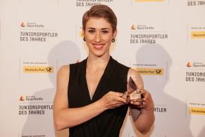 Pauline Grabosch, Juniorsportlerin des Jahres 2016 (Bild: picture alliance für Deutsche Sporthilfe)