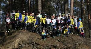 Das MTB Team Sachsen-Anhalt in der Dübener Heide
